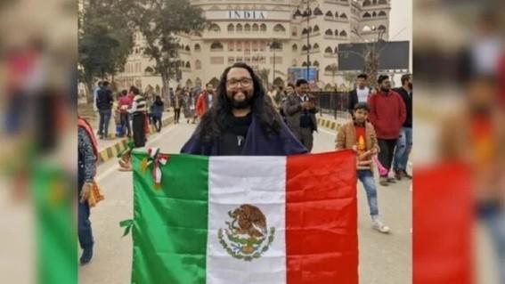mexicano atrapado por coronavirus india