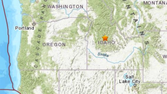 sismo 65 idaho estados unidos