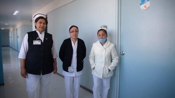 las mujeres son las mas expuestas a contagiarse de coronavirus en mexico pues representan 70 por ciento de personal sanitario del pais