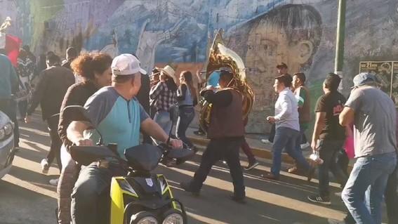 organizan carnaval en tlalpan aun con contingencia por coronavirus