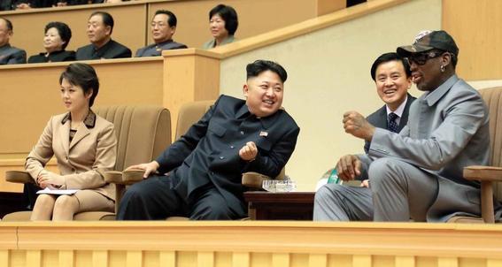 ¿como se hicieron amigos dennis rodman y kim jongun