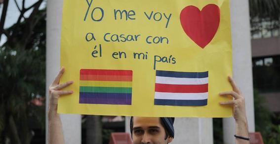 costa rica primer pais centroamericano en legalizar el matrimonio homosexual