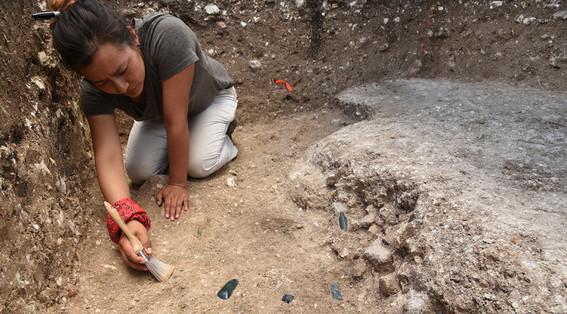 monumento maya aguada fenix tabasco
