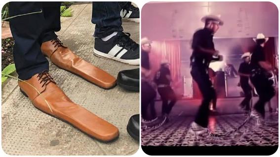 crean en europa zapato para sana distancia; mexicanos recuerdan botas tribaleras