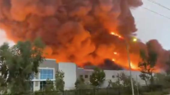 incendio amazon en redlands california