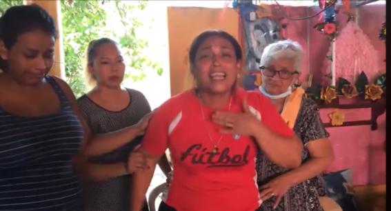 madre de alexander asesinado por policias oaxaca