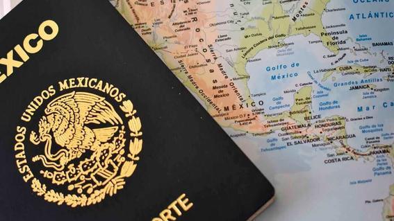 sre pasaporte mexicano covid