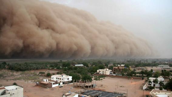 ¿que es el polvo del sahara y que consecuencias tiene para la salud