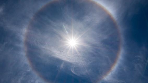 ¿los halos solares tienen alguna relacion con los sismos