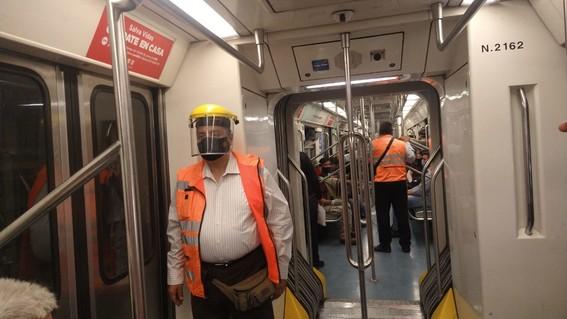 metro cdmx regala un millon de caretas covid