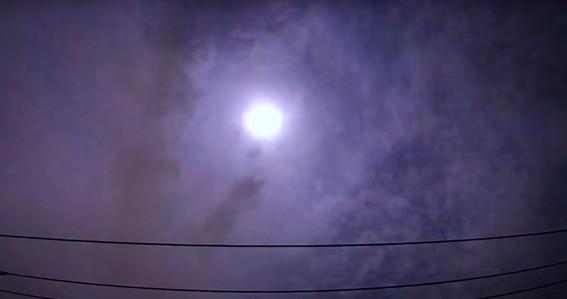meteoro explota sobre japon