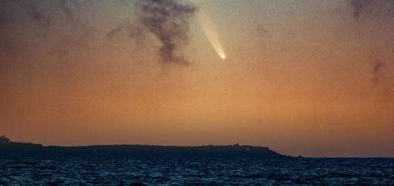 nasa comparte imagen del mexicano que fotografio al cometa neowise