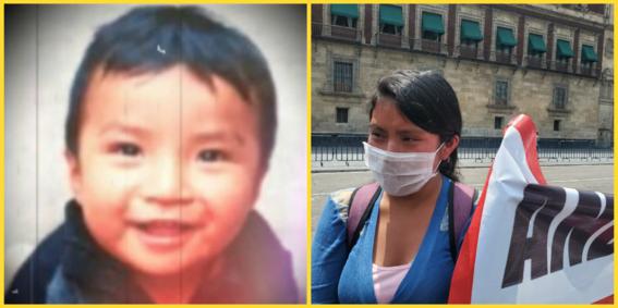 mama de dylan bebe desaparecido en chiapas pide ayuda para encontrarlo