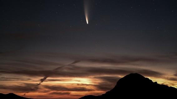 ¿cuando y como puedo ver el cometa neowise en mexico