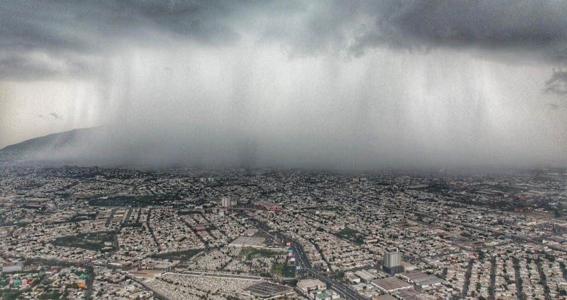 fotos de la tormenta tropical hanna en monterrey