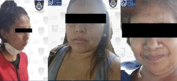 detienen a tres por secuestro y extorsion a enfermeras cdmx