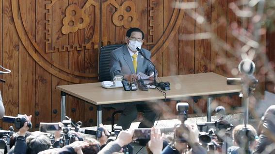 detienen a lider de la secta surcoreana shincheonji lee manhee