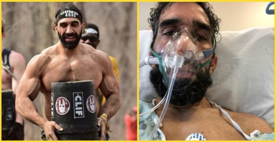 ¿quien es ahmad ayyad el atleta que casi muere por covid19