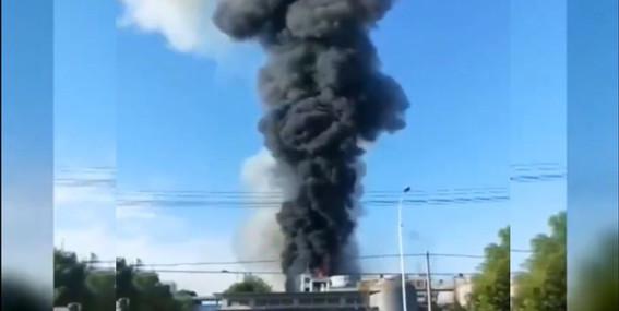 explota fabrica de productos quimicos y mueren seis personas en china