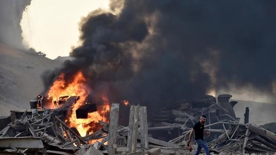 causas de la explosion de beirut libano