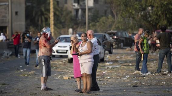 estos son los testimonios de sobrevivientes de explosion en beirut