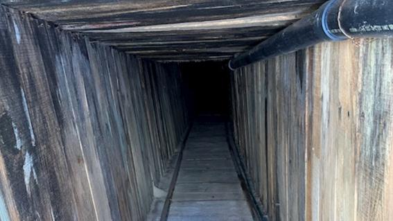 descubren el tunel clandestino mas sofisticado en la historia de eua