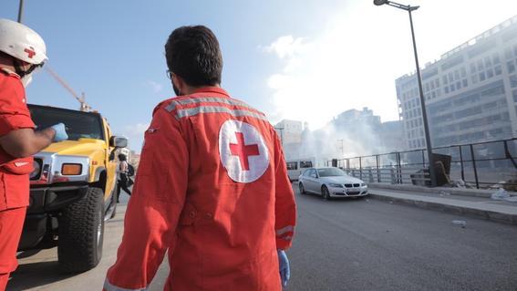 protestas libano explosion muertos beirut