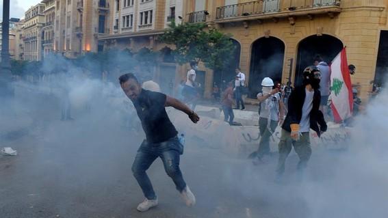 gobierno libano explosion beirut