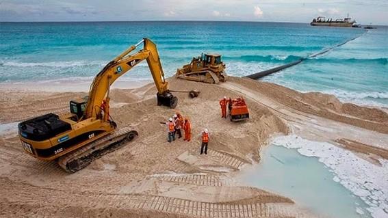 extraccion y venta de arena extraida de quintana roo