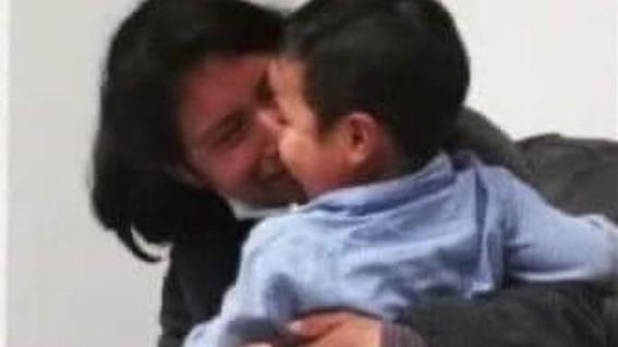 rescatan al pequeno dylan tras 44 dias desaparecido
