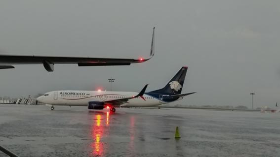 lluvia aeropuerto cdmx