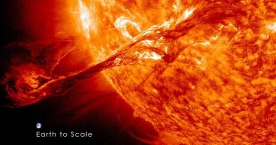 tormenta solar golpea la tierra agosto 2020