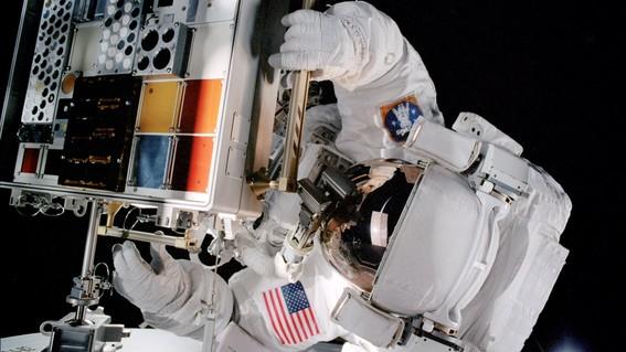 fuga de aire estacion espacial internacional