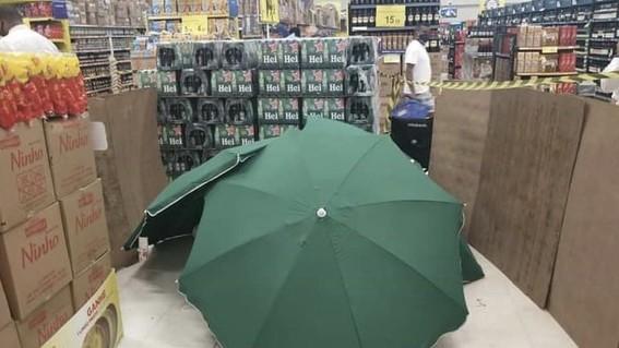 muere en supermercado brasil