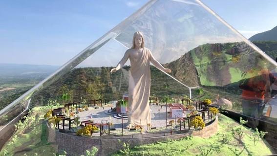construiran en zacatecas el cristo mas grande de mexico