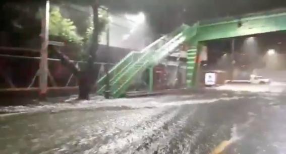 lluvia azota a la cdmx la noche del 16 de septiembre