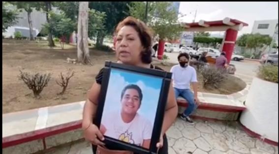 madre exige justicia para su hijo hallado sin organos en chiapas