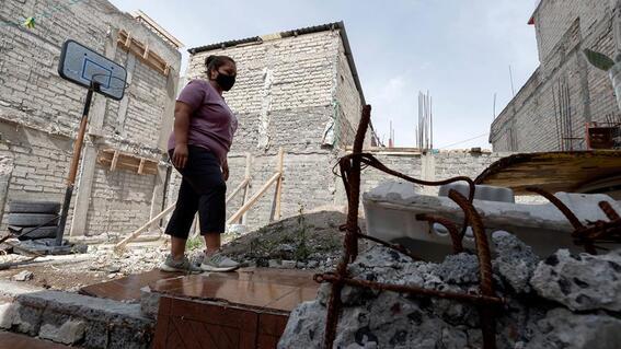 damnificados del sismo de 2017 entre la reconstruccion y la covid en mexico