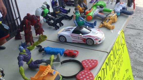 nino vende juguetes ciudad victoria tamaulipas