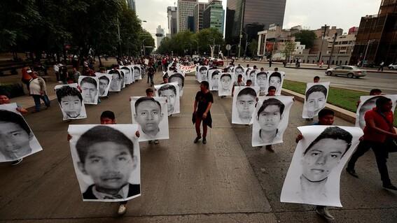 ayotzinapa 6 anos desaparicion estudiantes