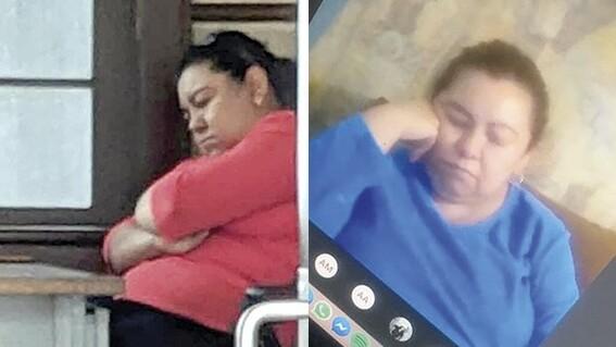 maestra dormida clase en linea saltillo