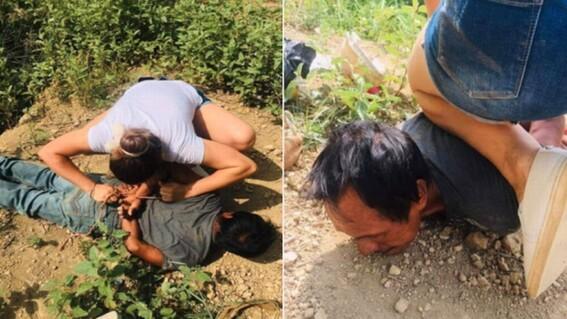 mujer somete a violador de menor de edad hidalgo
