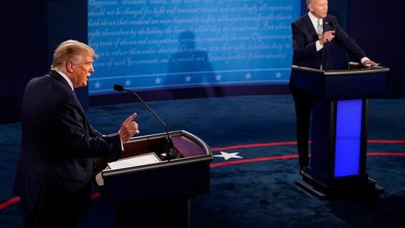 primer debate presidencial donald trump biden