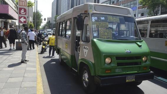 rutas peligrosas en el transporte publico cdmx