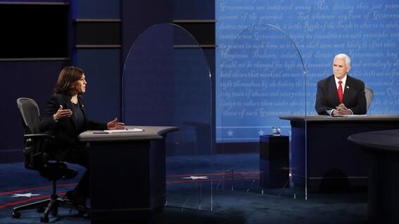 debate vicepresidentes kamala harris contra mike pence