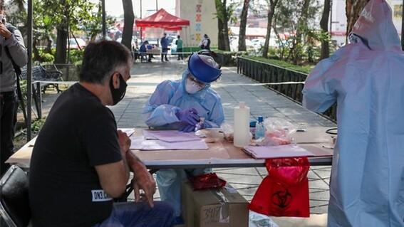 quioscos salud deteccion covid cdmx