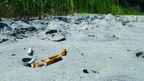 colillas cigarro playas mexicanas