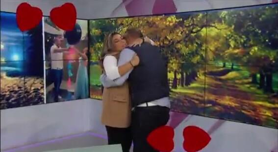 propuesta matrimonio canal 11 noticias conductora carla contreras