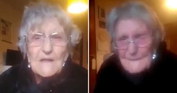 abuela suplica por ver a su familia confinamiento