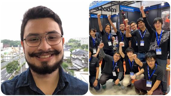 ingeniero mexicano del tecnm gana concurso de robotica en japon